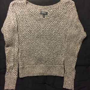 Silver Jeans knitted gray sweater size S